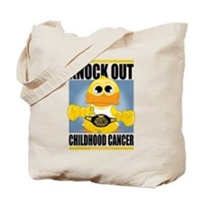 Knock Out Childhood Cancer Tote Bag