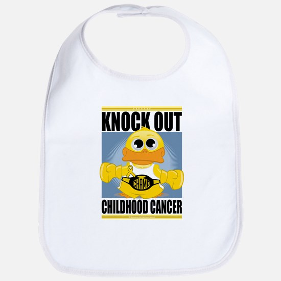 Knock Out Childhood Cancer Bib