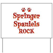 Springer Spaniel Yard Sign