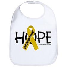 Childhood Cancer Hope Bib