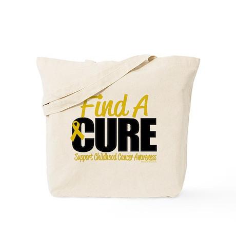 Childhood Cancer Find A Cure Tote Bag