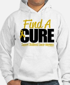 Childhood Cancer Find A Cure Hoodie