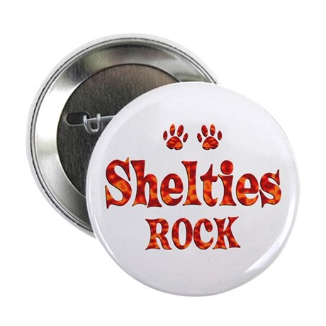 """Sheltie 2.25"""" Button"""