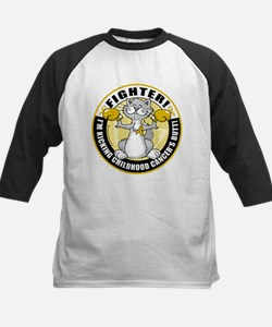 Childhood Cancer Fighter Cat Tee
