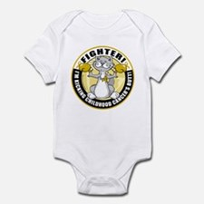Childhood Cancer Fighter Cat Infant Bodysuit