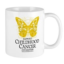 Childhood Cancer Butterfly 2 Mug