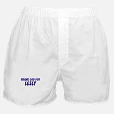 Thank God For Lesly Boxer Shorts