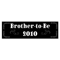 Brother-to-Be 2010 Sticker (Bumper 50 pk)