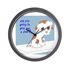 Are You Going To Give Me A Shot? Wall Clock