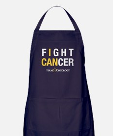 I Can Fight Cancer Apron (dark)