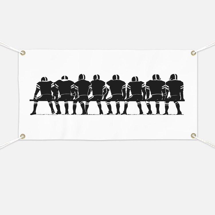 FOOTBALL *4* {gray} Banner