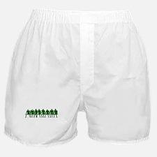 FOOTBALL *4* {green} Boxer Shorts