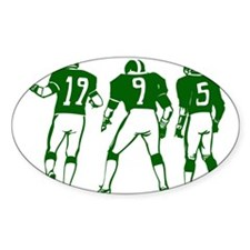 FOOTBALL *5* {green} Decal