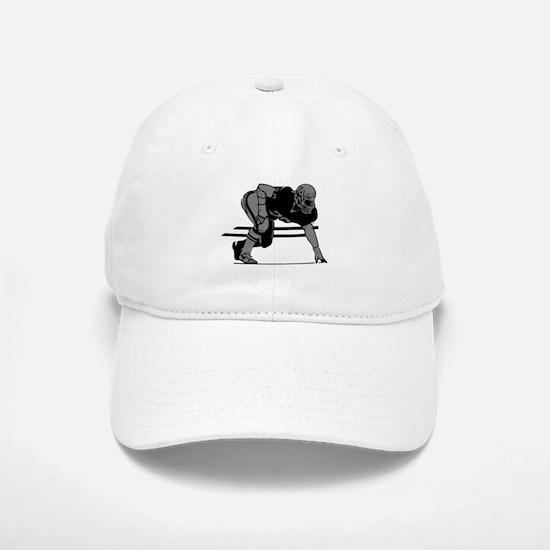 FOOTBALL *6* {gray} Baseball Baseball Cap