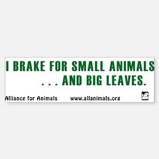 I brake Bumper Bumper Bumper Sticker