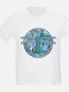 Cool Celtic Dragonfly Kids T-Shirt