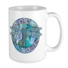 Cool Celtic Dragonfly Mug