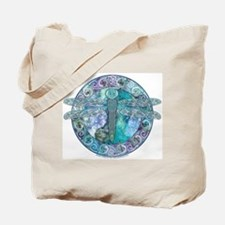 Cool Celtic Dragonfly Tote Bag