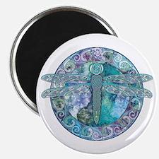 Cool Celtic Dragonfly Magnet
