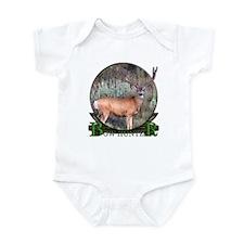 bow hunter, trophy buck Infant Bodysuit