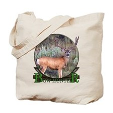 bow hunter, trophy buck Tote Bag