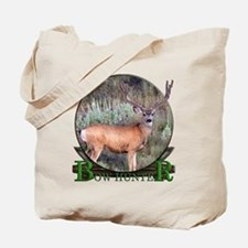 bow hunter, trophy buck Tote Bag