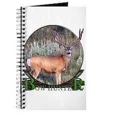 bow hunter, trophy buck Journal