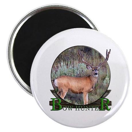 "bow hunter, trophy buck 2.25"" Magnet (100 pac"