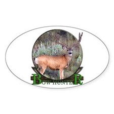 bow hunter, trophy buck Decal