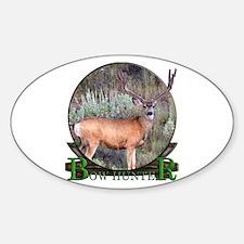 bow hunter, trophy buck Decal