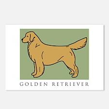 Conformation Golden Postcards (Package of 8)