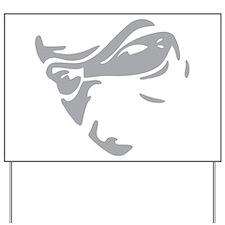 The NV Logo (Grey) Yard Sign