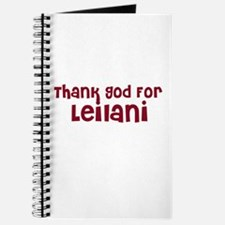 Thank God For Leilani Journal