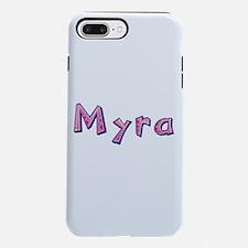 Myra Pink Giraffe iPhone 7 Plus Tough Case