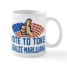 Funny Legalize Marijuana Mug
