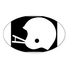 FOOTBALL *8* {black} Decal