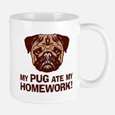 My Pug Ate My Homework Mug