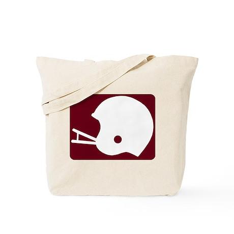 FOOTBALL *8* {crimson} Tote Bag