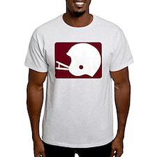 FOOTBALL *8* {crimson} T-Shirt