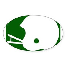 FOOTBALL *8* {green} Decal