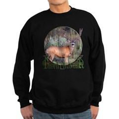 Trophy Hunter, mule deer Sweatshirt (dark)