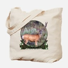 Trophy Hunter, mule deer Tote Bag