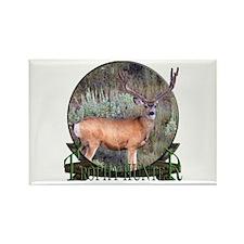 Trophy Hunter, mule deer Rectangle Magnet