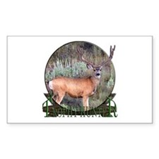 Trophy Hunter, mule deer Decal