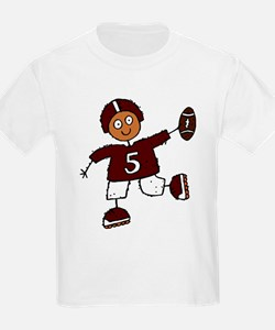 FOOTBALL *10* {crimson} T-Shirt