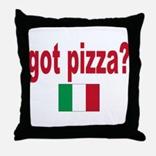 got pizza? Throw Pillow