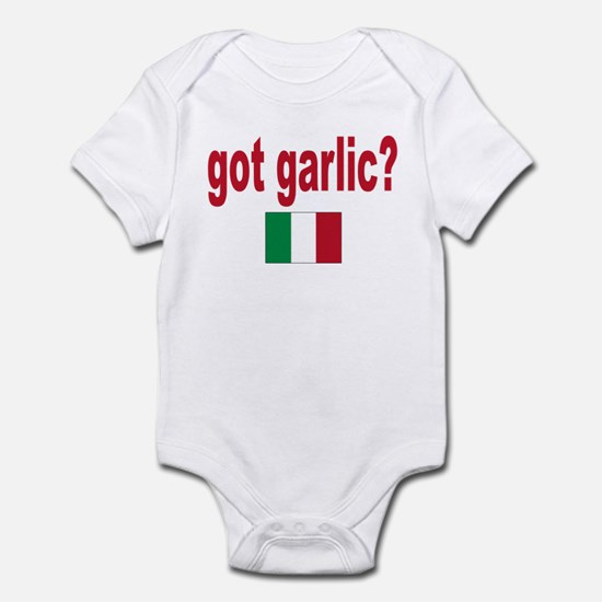 got garlic? Infant Bodysuit