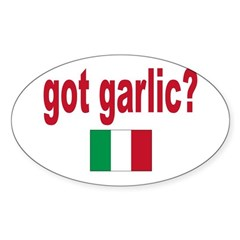 got garlic? Decal