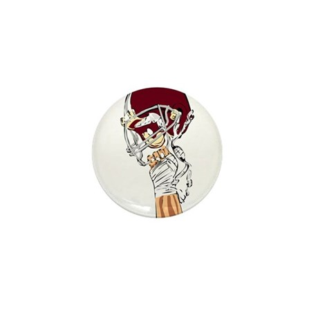FOOTBALL *13* {crimson} Mini Button (10 pack)