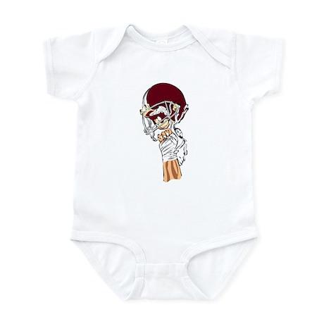 FOOTBALL *13* {crimson} Infant Bodysuit